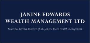 Janine Edwards Logo Blue 06 17