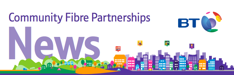 RBA's partner with BT via their Community Fibre Partnership programme