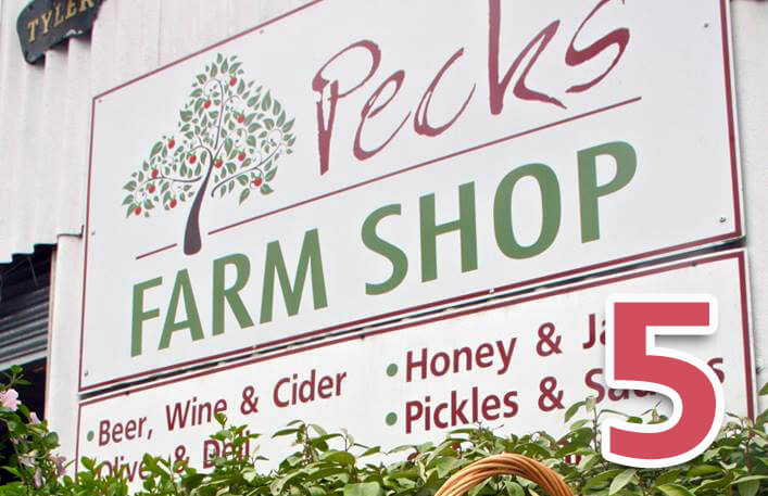 Day 5: Pecks Farm Shop