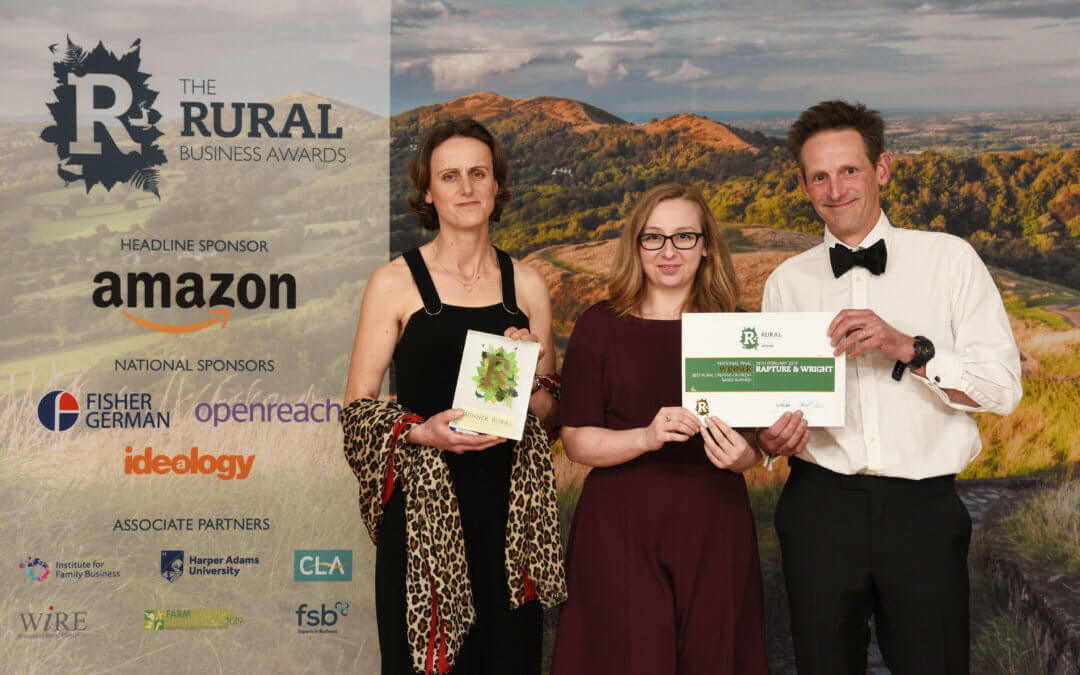 Rapture & Wright - Best Rural Creative or Media-based Business